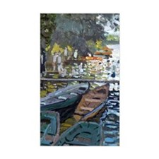 Monet Bathers at La Grenouille Decal