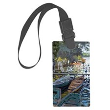 Monet Bathers at La Grenouillere Luggage Tag