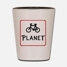 Bicycle pLANEt Shot Glass