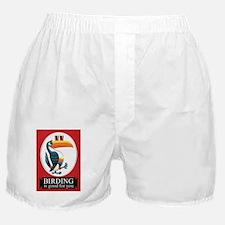 Birding Is Good For You Birder T-Shir Boxer Shorts