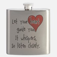 Let Your Heart Guide You Flask
