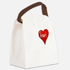 Let Your Heart Guide You Canvas Lunch Bag