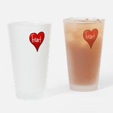 Let Your Heart Guide You Drinking Glass