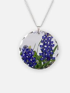 Texas bluebonnet Necklace