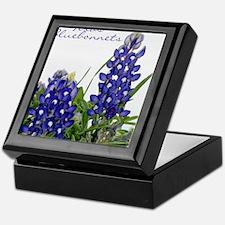 Texas bluebonnet Keepsake Box