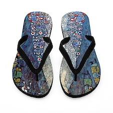 Gustav Klimt Baroness Elizabeth Flip Flops