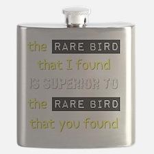 The Rare Bird That I Found Birding T-Shirt Flask