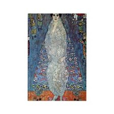 Gustav Klimt Baroness Elizabeth Rectangle Magnet