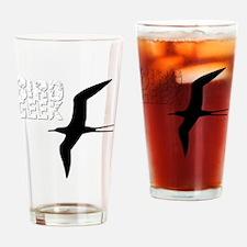 Bird Geek (Frigatebird) Birding T-S Drinking Glass