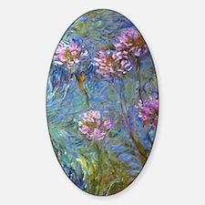 Monet Agapanthus Decal