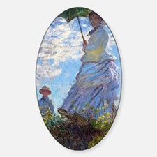 Woman with a Parasol Decal