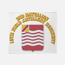DUI - 2nd Bn,15th Field Artillery Regiment With Te