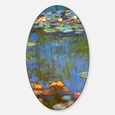 Claude Monet Water Lilies Decal