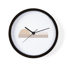 Espana Vintage Sunset Wall Clock