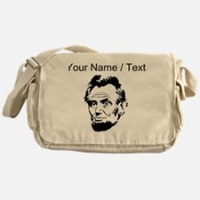 Custom Abraham Lincoln Messenger Bag