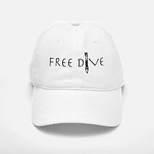 Free Dive Baseball Baseball Cap