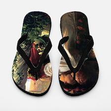 Frank Dicksee Romeo And Juliet Flip Flops