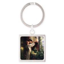 Frank Dicksee Romeo And Juliet Square Keychain
