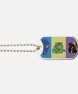 Alien-Tiger-Cow Dog Tags