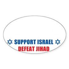 Support Israel, Defeat Jihad Decal