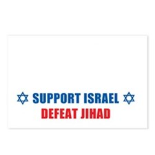 Support Israel, Defeat Ji Postcards (Package of 8)