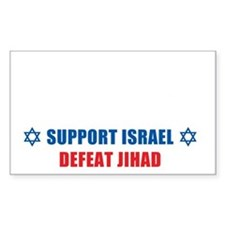 Support Israel, Defeat Jihad Decal