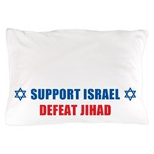 Support Israel, Defeat Jihad Pillow Case