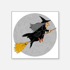 "Witch Square Sticker 3"" x 3"""