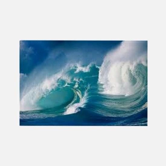 Ocean Rectangle Magnet
