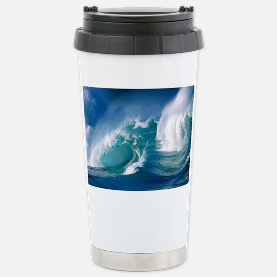 Ocean Stainless Steel Travel Mug