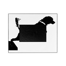 Portuguese Water Dog Jump Picture Frame