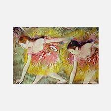 Edgar Degas Ballet Dancers Rectangle Magnet