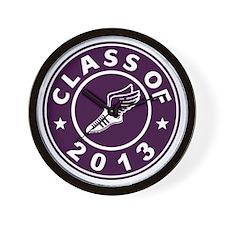 Class Of 2013 Track Wall Clock