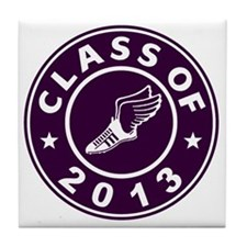 Class Of 2013 Track Tile Coaster