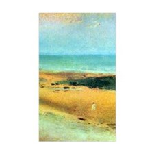 Edgar Degas Beach At Low Tide Decal