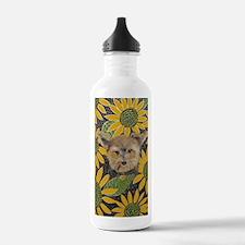Journal Morkie Sunflow Water Bottle