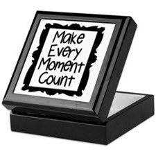 Make Every Moment Count Keepsake Box