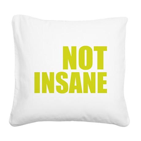 bbtInsaane2E Square Canvas Pillow