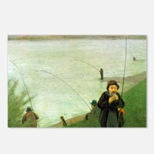 Macke Anglers on the Rhin Postcards (Package of 8)