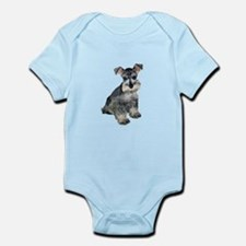 Schnauzer Pup3 Infant Bodysuit