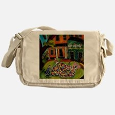 Crazy Quilt Messenger Bag