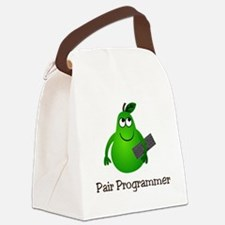 Pair Programmer Canvas Lunch Bag