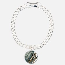 AQUA CULTURE KISS THE DE Charm Bracelet, One Charm