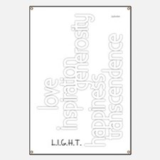 Light white decor Banner