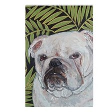 Journal Bulldog Ferns Postcards (Package of 8)