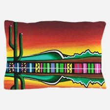 Sarape Horizon Pillow Case
