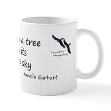 Earhart Quote Mug