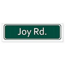 Joy Rd. Street Sign - Detroit Bumper Sticker