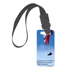 Sikorsky Flying Quote Luggage Tag