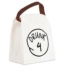 Drunk 4 Canvas Lunch Bag